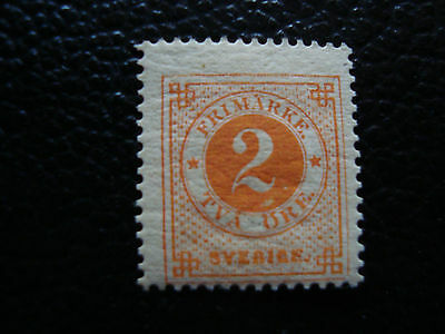 SUEDE - timbre yvert et tellier n° 29 n* (A27) stamp sweden