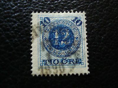 SUEDE - timbre yvert et tellier n° 39 obl (A27) stamp sweden
