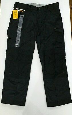 Snickers Craftmen Work Trousers Black with Kneepad Pockets 3312 Size 100