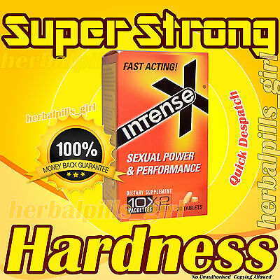 SEX Herbal YELLOW Tabs Maximum STRENGTH Super Strong Male Supplement x 40