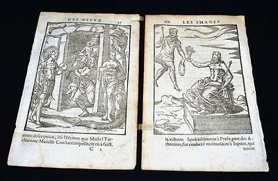"1581 Engravings ""Images of the Gods of the Ancients"", Vincenzo Cartari"