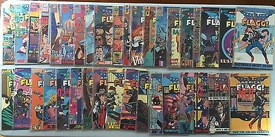 Giant Lot of over 40 AMERICAN FLAGG! Comics by Howard Chaykin (First Comics)