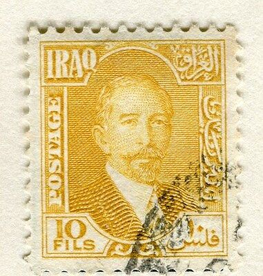 IRAQ;  1932 early King Faisal issue fine used 10f. value