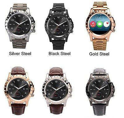 T2 HD Bluetooth Smart Round Wrist Watch with 3.0 mpx Camera (4 Styles) - UK
