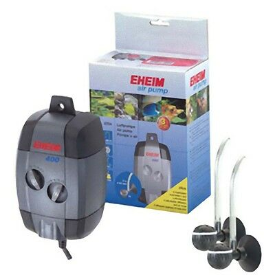 Eheim Air Pump 100 200 400 + Airline + Airstone Diffuser For Fish Tank Aquarium