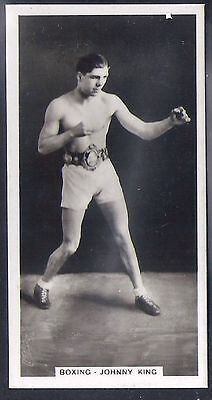 Pattreiouex-Sporting Celebrities (F54)-#17- Boxing Johnny King