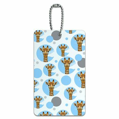 Luggage Card Suitcase Carry-On ID Tag Animals Going On Safari