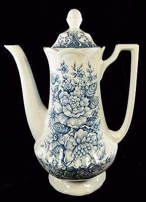 J & G Meakin Ironstone England Royal Staffordshire Coffee Tea Pot Avondale MINT