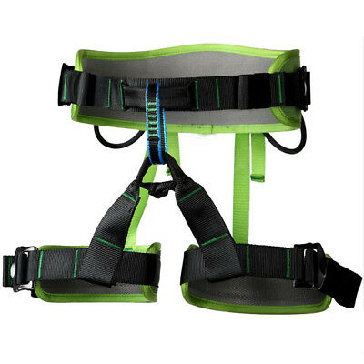 Outdoor Rock Tree Climbing Rappelling Safety Belt Sit Seat Rescue Harness