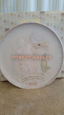 Enesco Precious Moments He Hath Made Every Thing Beautiful In His Time Plate '95