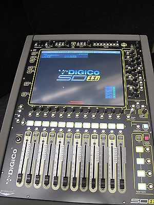 Digico Mixer SD11i with 32/8 Stage box and Cat5 Tourcable