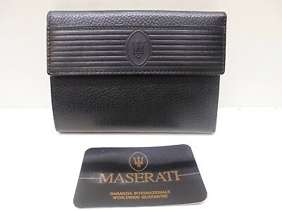 Portafoglio da donna MASERATI - Genuine leather wallet woman - Cartera