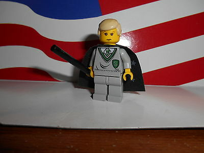 Lego Harry Potter Minifigure Draco Malfoy from Sets 4735 4709 4733 100/% REAL