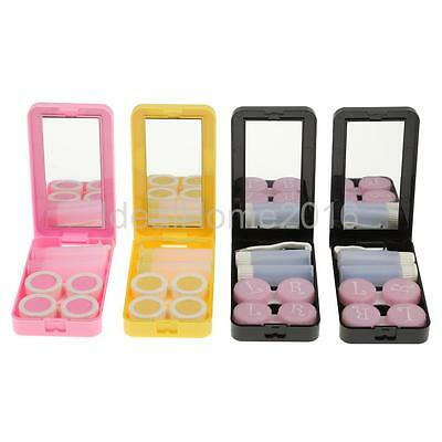 Mini Pocket Size Contact Lens Holder Container Travel Portable Kit Holder