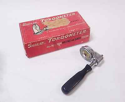 "SNAP-ON TQSI .055-FU TORQOMETER .055N"" m DIAL TORQUE DRIVER WRENCH NEWTON METER"