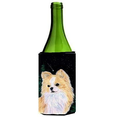 Carolines Treasures Starry Night Chihuahua Wine bottle sleeve Hugger 24 oz.