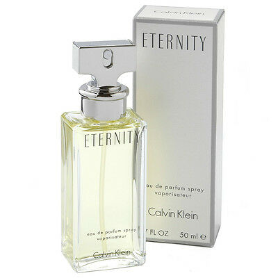 Calvin Klein Eternity For Women 50Ml Eau De Parfum Spray Brand New & Sealed *