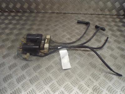 Honda GL1100 GL 1100 Goldwing Ignition Coils With Leads & Caps