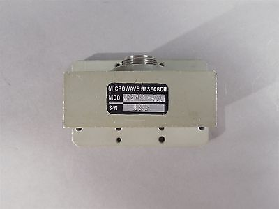 Microwave Research B240-7A Waveguide WR-229 Adapter APC-7 Conn 3.30-4.90 GHz