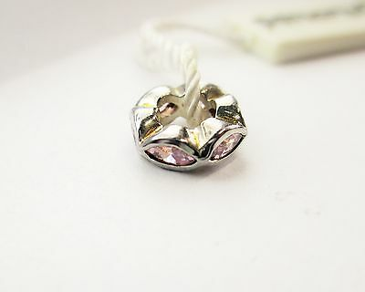 NEW PERSONA STERLING SILVER PINK CARNATION PEARL CHARM  $35.00 RETAIL  H12067PP