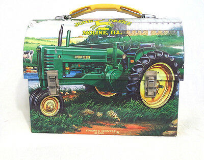 John Deere 2005 Licensed Tin Lunch Box 3/22*500