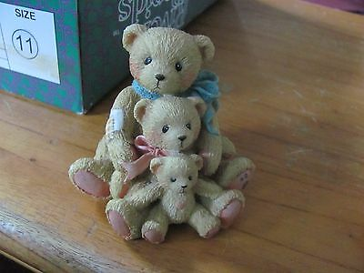 Cherished Teddies by Enesco Theodore Samantha Tyler Friends Come in All Sizes
