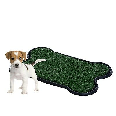 Dog Pet Potty Pad - Dog Training Bathroom Pad Indoor or Outdoor - Bone Shapped