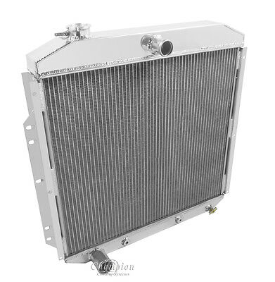 FE Motor 1953 1954 1955 1956 Ford F-100 Truck 3 Row FE Engine RS Radiator