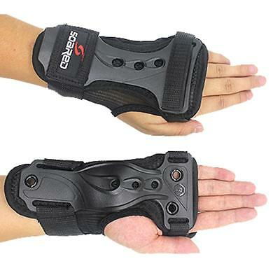 Ski Snowboard Roller Skating Wrist Guard Support Strain Sprain Brace Gloves