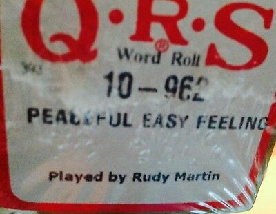Peaceful Easy Feeling The Eagles   Brand New Pianola Player Piano Roll