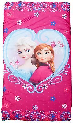 Disney Frozen Anna and Elsa Slumberbag 30 X 54 Pink