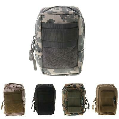 Molle System Tactical Military EDC Utility Tool Bag Money Phone First Aid Pouch
