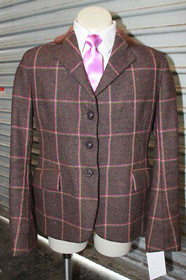 Foxley Childs Tweed Hunter Jacket. Size 12