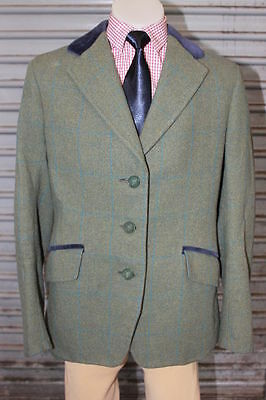 Caldene Childs Tweed Hunter Jacket. Size 10-12