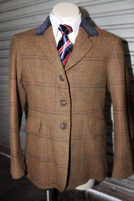 Caldene Childs Tweed Hunter Jacket. Size 10
