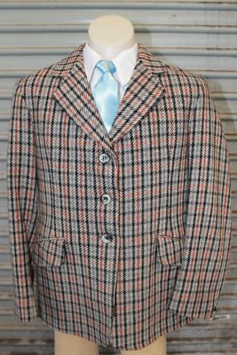 Caldene Childs Tweed Hunter Jacket. Size 12