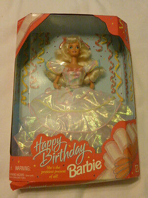 Happy Birthday Barbie 1995, New in Box