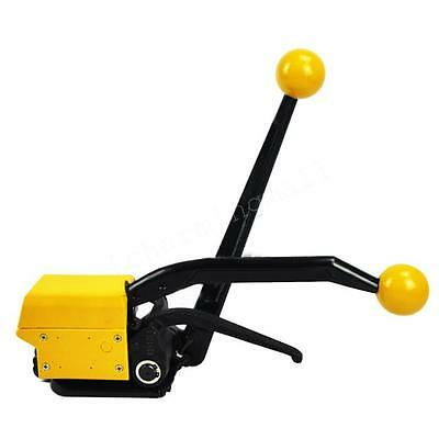 """Durable Manual Steel Strapping Combinatio Tool Machine For Width 1/2-3/4"""" Straps"""
