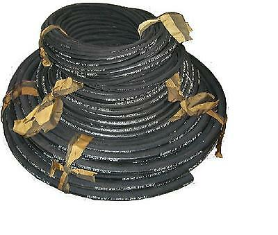 "3/8"" High Pres Hydraulic Hose 50mtr Farm Tractor Industrial Part No 100R2AT-3/8"""