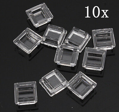 10pcs LED Lens Reflector  120 Degree For Diffused Light 10.2*9.6*4mm 5050 SMD