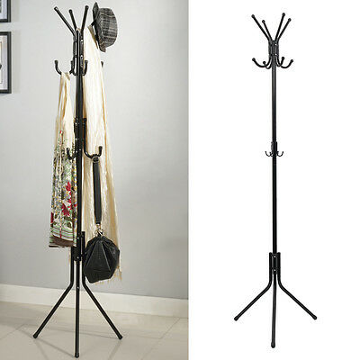 Perchero de pie Percheros Metal Coat Rack para Ropa Colgador Salón Soporte ES