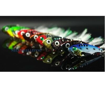 3 X Spinner Blade Lures Fishing Bait Hook VIB Tackle Perch Bass Pike Trout 12g