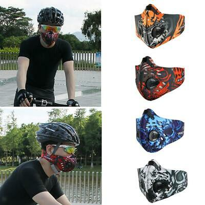 Anti Dust Pollution PM2.5 Half Face Mask for Outdoor Sports Ski Cycling Running