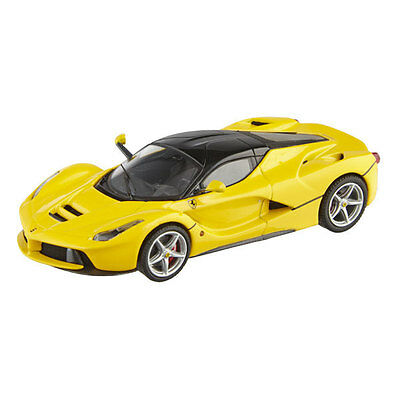 Ferrari LaFerarri - Mattel Hot Wheels Elite 1:43 Diecast car, BCT84 - Yellow