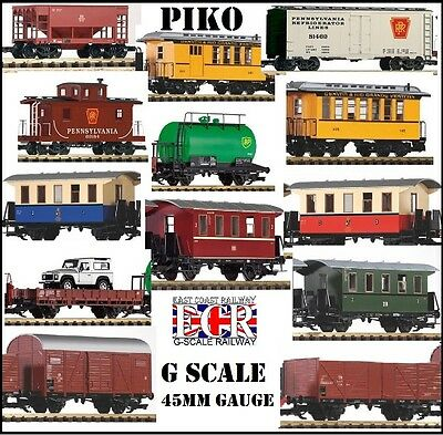 PIKO G échelle 45mm JAUGE CHEMIN DE FER ROULANT STOCK COMPATIBLE LGB LOT TRAIN
