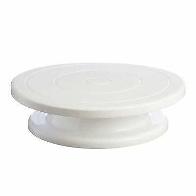 Mason Cash Cake Decorating Icing Turntable Plateau Tournant 28Cm White