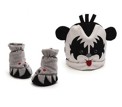 Baby Gund - My First KISS Demon Cap and Booties boots  gene simmons
