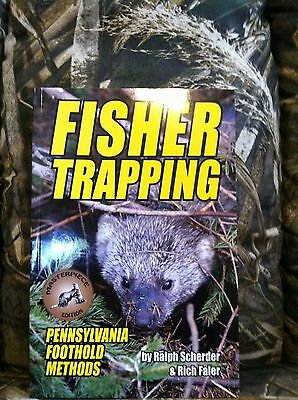 New Fisher Trapping Book 96 full color pages trap traps trapping