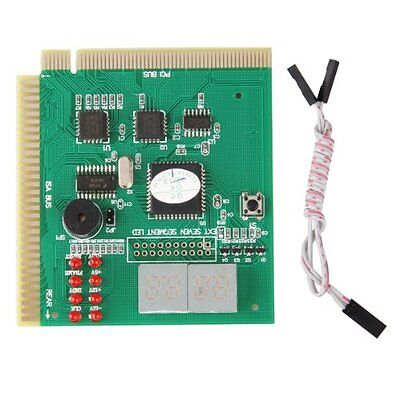 Diagnostic analyzer card for motherboard-PCI ISA DM