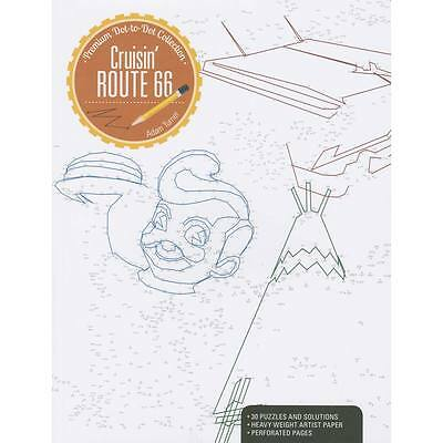 NEW Kalmbach Cruisin  Route 66 Dot to Dot Book 52001